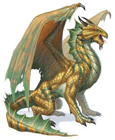 Image result for use wings and tail as a half dragon D&D