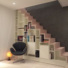 Home Fashion, Bookcase, Stairs, Shelves, House Styles, House Ideas, Inspiration, Home Decor, Biblical Inspiration