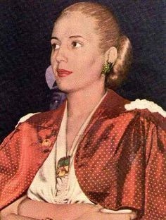 Evita Perón colores   María Eva Duarte de Perón   Pinterest