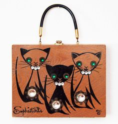 Enid Collins Sophistikits box bag by niwotARTgallery on Etsy, $310.00