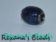 Lapis Lazuli Euro Style Sterling Silver Bead in the Supplies - Save on Shipping auction on @Tophatter http://tophatter.com/auctions/17036?campaign=featured=internal
