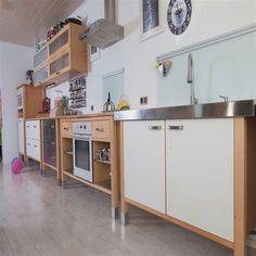 245+ Latest Modern Kitchen Design Ideas Studio Kitchen, Kitchen Rug, Kitchen Items, Kitchen Colors, Kitchen Flooring, Kitchen Countertops, Ikea Duktig, Ikea Varde, Bulthaup Kitchen