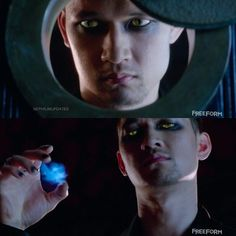 """""""The First Time we see the @HarryShumJr as Magnus Bane #Shadowhunters #Pilot Episode 1"""