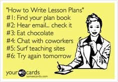 Teacher Humor... Living this life daily... Reasons why it takes all week to write them!