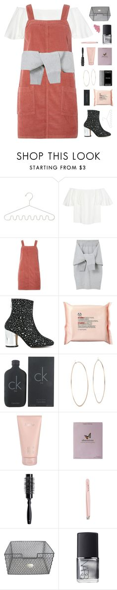 """""""i'm in love with your body"""" by frostedfingertips ❤ liked on Polyvore featuring Valentino, Dorothy Perkins, Le Ciel Bleu, Maison Margiela, The Body Shop, Calvin Klein, Michael Kors, Prada, Lalique and Kelly Wearstler"""