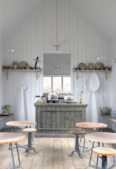 Salon de thé.