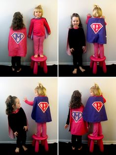Super Hero Cape {pattern + tutorial}