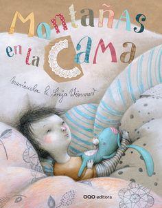 """""""Montañas en la cama"""" María Molina (Maricuela) y Sonja Wimmer. Editado por OQO"""