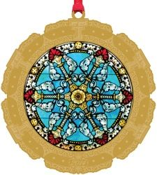 Purchase your 2014 Official Texas Tech Alumni Association Ornament. The ornament features ther rose window, located on the west side of the Kent R. Hance Chapel above the doors of the main entrance. Rose Window, Texas Tech, Holiday Gifts, Main Entrance, West Side, Ornaments, Full Set, Christmas Ideas, University