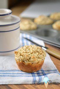 Parmesan Herb Biscuit Muffins (Batch of 6)