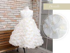 Flower Girl Dress White long Wedding3Months9Years by Studiodress, $185.00