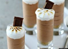 S'mores Pudding Shots