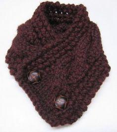 Speckled Frog Crochet: Free Crochet Pattern Super Easy Neck Warmer