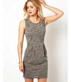 ASOS.com (UK) - Sleeveless Jersey Dress