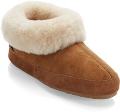 "These keep my feet warm & happy on my apartment's cold tile floors in the winter. ""REI Women's Shearling Booties"""