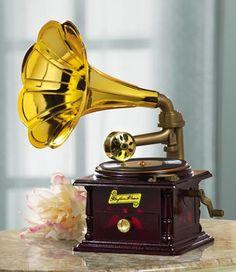 Gramophone Music Box  #17230