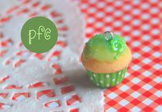 ♣ 4-Leafed Clover Cupcake Polymer Clay Charm Tutorial