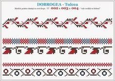 Folk Embroidery, Embroidery Stitches, Embroidery Patterns, Knitting Patterns, Cross Stitch Geometric, Cross Stitch Borders, Cross Stitch Patterns, Borders And Frames, Textile Design