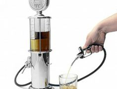 Bar Butler Retro Gas Pump Liquor Dispenser and more such cool products shared by users on Wicfy Price ranging from USD to USD 40 Alcohol Dispenser, Liquor Dispenser, Cocktail Accessories, Bar Accessories, Butler, Vodka, Pompe A Essence, Beer Keg, Silver Pumps