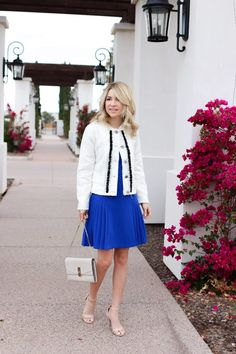 c69800c6168 How to wear the lady jacket this spring