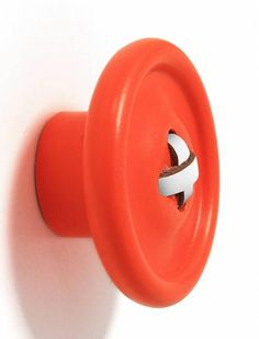 HK-living Hook orange wood 3 sizes, 13 and Button Hooks