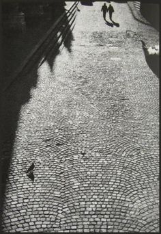Street in Budapest, A Várban, 1991, by Bruno Bourel.