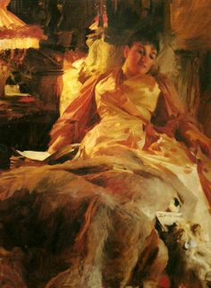 Anders Zorn - Lighting (study)