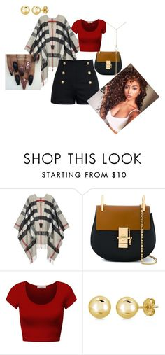 """Team Cardagin"" by rayonna-ray ❤ liked on Polyvore featuring Burberry, Chloé, DK, BERRICLE and Renee Lewis"