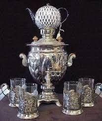 Image result for russian tea set