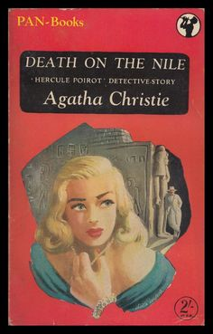 Death on the Nile - Agatha Christie. Pan paperback edition, 1951.: