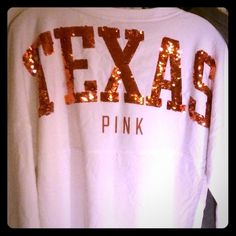 Selling this NWOT VS PINK BLING University of Texas UT Top - S in my Poshmark closet! My username is: cmccullough9. #shopmycloset #poshmark #fashion #shopping #style #forsale #PINK Victoria's Secret #Tops