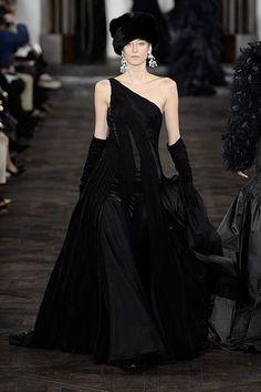 New York Fashion Week: Ralph Lauren. Fall/Winter 2013/2014