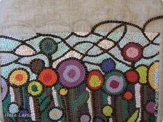 Сумка текстильная | Страна Мастеров Art Bag, Fabric Yarn, Recycling, Blanket, Crochet, Bags, Handbags, Ganchillo, Blankets