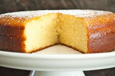 lemon yoghurt cake (adapted from Ina Garten) Sweet Recipes, Cake Recipes, Dessert Recipes, Lemon Yogurt Cake, Delicious Desserts, Yummy Food, Greek Desserts, Croatian Recipes, Food Staples