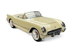 1955 Chevrolet Corvette Roadster - Quick, I need a headscarf, thinking Grace Kelly in To Catch a Thief