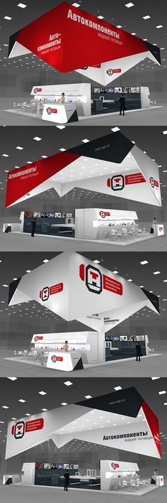 OAT exhibition stand on Behance