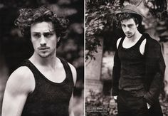 """Aaron Johnson.. Why this guy has not been on my radar already. No idea. In the movie """"Savages"""". My goodness."""