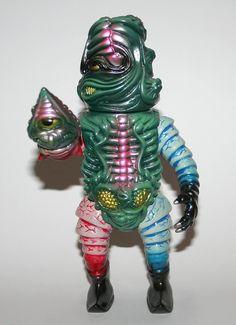 Paul Kaiju Salamander Joe Frankenrouge Tribute  http://www.viciousfun.com/vinyl-figures/paul-kaiju.html