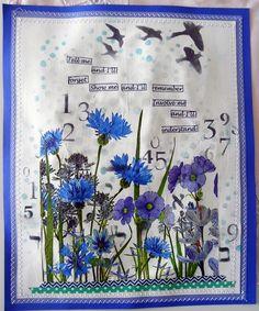 Bastelmania: Flowers and birds