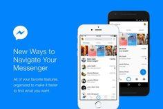 Facebook Messenger è in fase di aggiornamento sia su piattaforma Android che su iOS e la nuova implementazione pone l'accento sulla messaggistica.  Secondo il VP David Marcus:   L'applicazione è ora organizzata per rendere Messenger il tuo hub per connettersi con tutte le persone e...