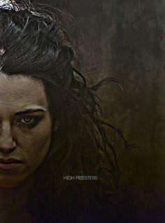 Lady Morgana from Merlin.