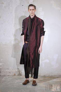 Haider Ackermann - Menswear - Spring-summer 2014 - http://en.flip-zone.com/fashion/menswear/haider-ackermann - ©PixelFormula