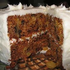 Sam's Famous Carrot Cake Recipe