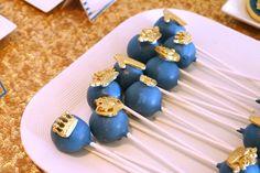 cake pops reais de uma celebração real da festa de aniversário no partido ideias de Kara |  KarasPartyIdeas.com (13)