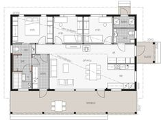 Kontio Laaksolahti is a luxury model, which gracefully combines a modern and luxurious living style with Californian elegance. House In The Woods, My House, Bungalow, Living Styles, Small House Plans, Glass House, Humble Abode, Log Homes, Luxury Living