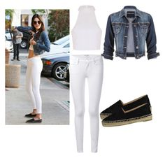 """""""Celebrity Style"""" by qetsiyah99 ❤ liked on Polyvore featuring Frame Denim, maurices, Ally Fashion and Chanel"""