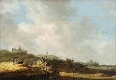 Jan van Goyen Dune Landscape, 1630s