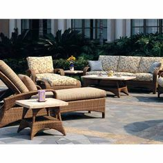 Cayman Outdoor Seating Group | Wicker Seating | Patio Renaissance | Outdoor  Furniture | Seasonal Concepts