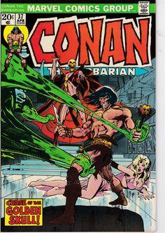 Conan The Barbarian 37  April 1974  Marvel Comics  Grade