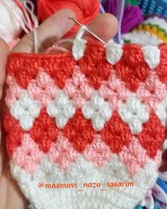 Crochet Baby Poncho, Bonnet Crochet, Crochet Ripple, Diy Crochet And Knitting, Crochet Quilt, Crochet Baby Clothes, Crochet Girls, Crochet Gloves, Crochet Slippers